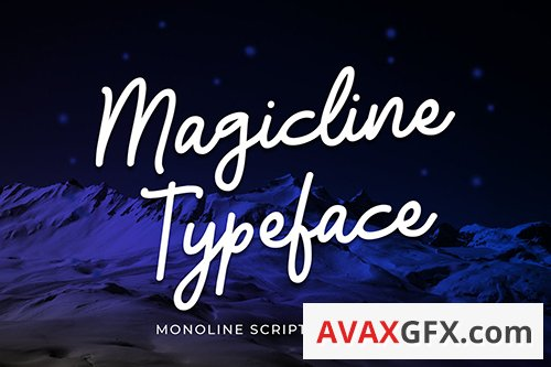Magicline Typeface Font