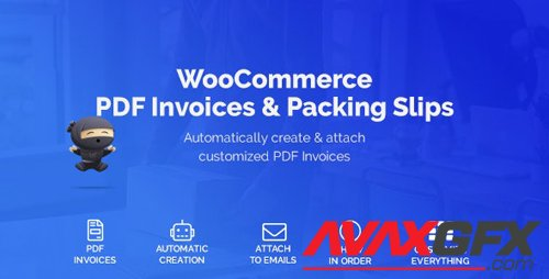 CodeCanyon - WooCommerce PDF Invoices & Packing Slips v1.3.7 - 22847240
