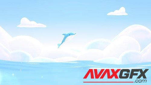 Videohive Dolphin And Sea 26381062