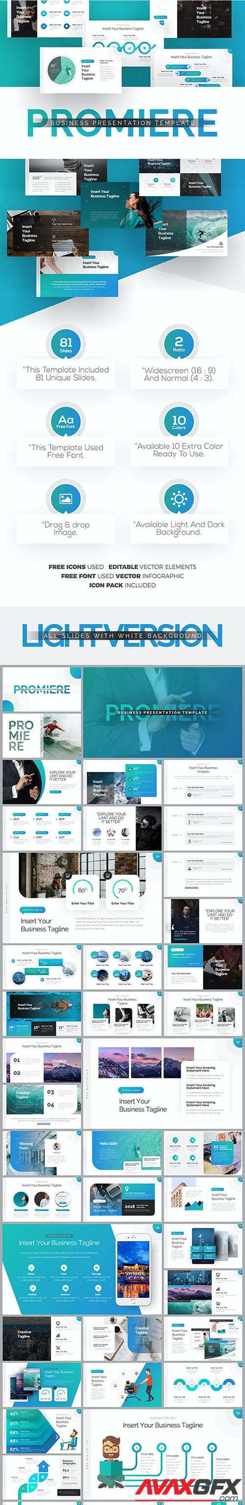 Promiere Business Keynote Presentation Template