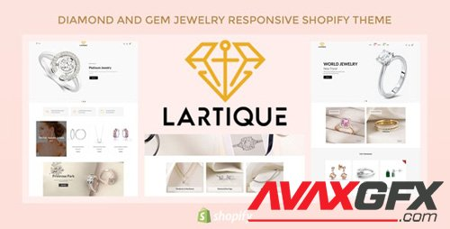 ThemeForest - Lartique v1.0.1 - Diamond And Gem Jewelry Responsive Shopify Theme - 26496831