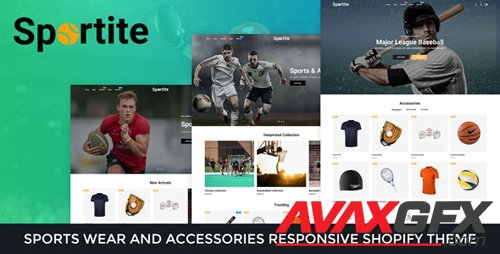 ThemeForest - Sportite v1.0.0 - Sports Wear And Accessories Responsive Shopify Theme - 26587100