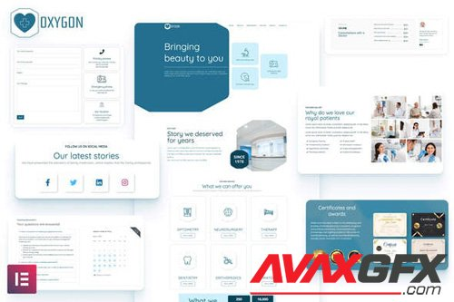ThemeForest - Oxygon v1.0 - Healthcare Medical Clinic Template Kit - 26006228