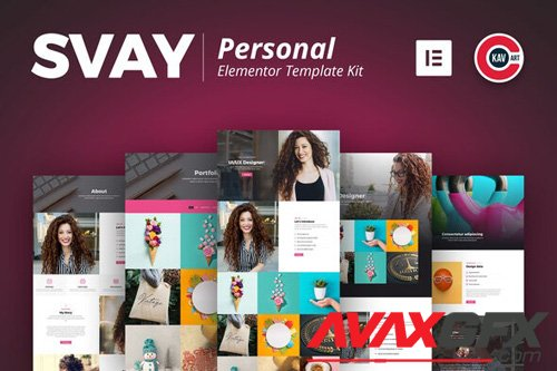 ThemeForest - Svay v1.0 - Personal Template Kit - 25996264