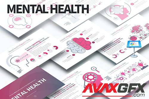 MENTAL HEALTH - Keynote Infographics Slides