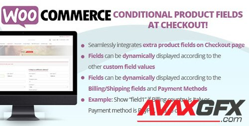 CodeCanyon - WooCommerce Conditional Product Fields at Checkout v4.6 - 22556253 - NULLED