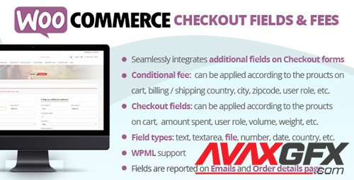 CodeCanyon - WooCommerce Checkout Fields & Fees v7.4 - 20668577 - NULLED