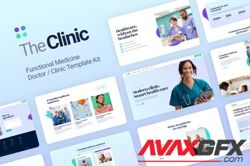 ThemeForest - The Clinic v1.0 - Health & Medical Elementor Template Kit - 26301524
