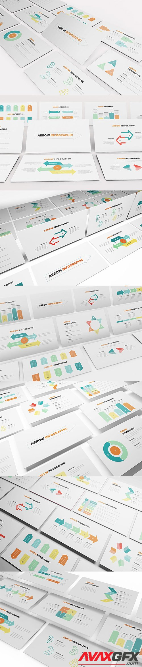 Arrow Infographic PowerPoint, Keynote, Google Slides Templates
