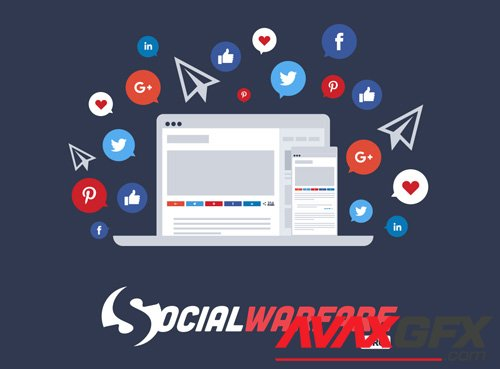Social Warfare Pro v4.0.1 - Best Social Sharing for WordPress - NULLED