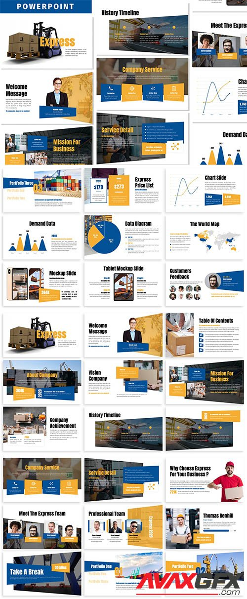 Express Business Powerpoint Template Avaxgfx All Downloads That You Need In One Place Graphic From Nitroflare Rapidgator