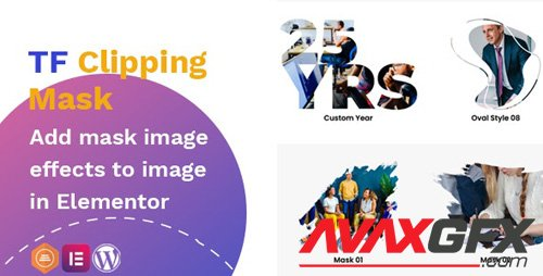 CodeCanyon - TFClipping Mask AddOns Image for Elementor v1.0.0 - 27125761