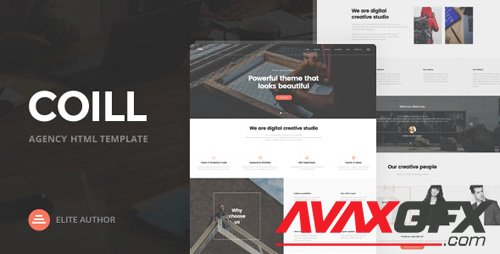 ThemeForest - Coill v1.0 - Business & Agency HTML5 Template - 19523599