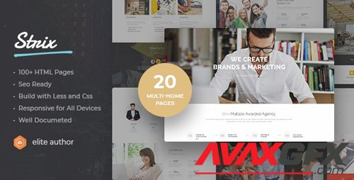ThemeForest - Strix v1.0 - Multipurpose HTML5 Template (Update: 27 November 18) - 22688321