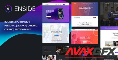 ThemeForest - Enside v1.0 - Multipurpose Onepage Template - 26862483