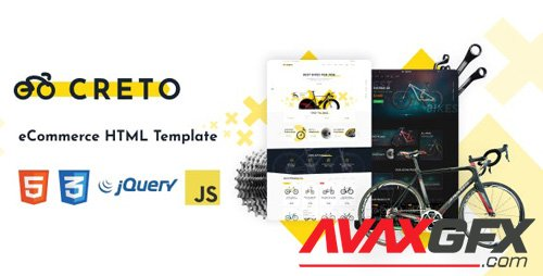 ThemeForest - Creto v1.0.1 - eCommerce HTML Template - 24473525