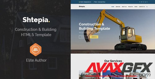 ThemeForest - Shtepia v1.2 - Construction & Building HTML5 Template (Update: 27 November 18) - 22856330