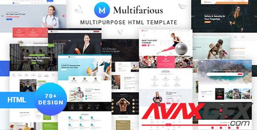 ThemeForest - Multifarious v1.0.0 - Services Responsive HTML Template (Update: 17 June 20) - 27210595