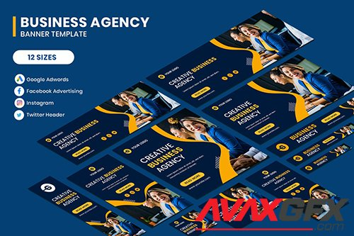 Business Google Adwords Banner Template