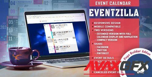 CodeCanyon - EventZilla v1.0 - Event Calendar - Addon For WPBakery Page Builder - 27345870