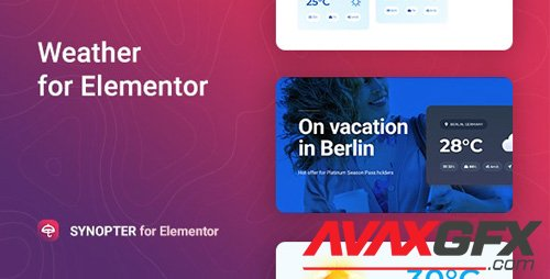 CodeCanyon - Synopter v1.0.0 - Weather for Elementor - 27314314