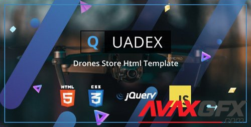 ThemeForest - Quadex v1.0 - Drones Store Html Template - 23820718