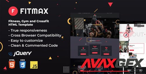 ThemeForest - Fitmax v1.0 - Fitness and Crossfit HTML Template - 24759365