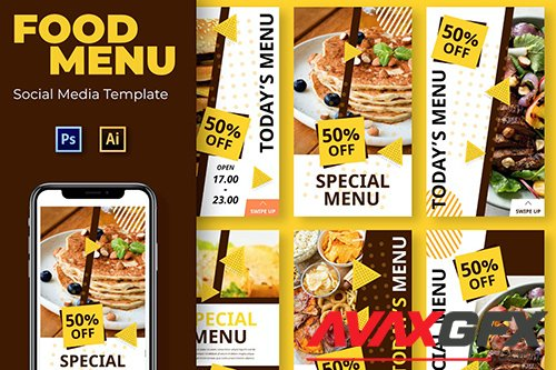 Open Food Social Media Template