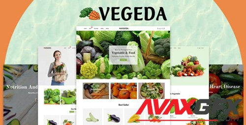 ThemeForest - Vegeda v1.0 - Vegetables And Organic Food eCommerce Shopify Theme - 27469486