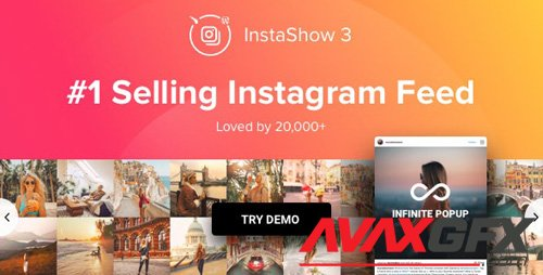 CodeCanyon - Instagram Feed v3.8.6 - WordPress Instagram Gallery - 13004086