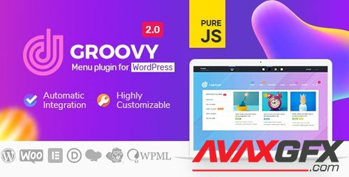 CodeCanyon - Groovy Mega Menu v2.1.1 - Responsive Mega Menu Plugin for WordPress - 23049456 - NULLED