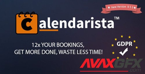 CodeCanyon - Calendarista Premium v9.5.3 - WP Appointment Booking Plugin and Schedule System - 21315966