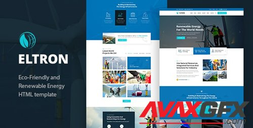 ThemeForest - Eltron v1.0 - Alternative Energy HTML Template - 27316135