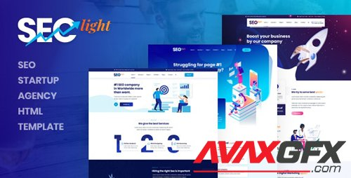 ThemeForest - Seclight v1.0 - Seo Startup Agency HTML Template - 26975338