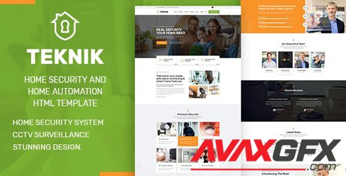 ThemeForest - Teknik v1.0 - Security Services HTML Template - 27034775