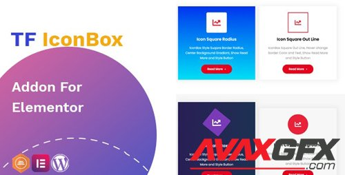 CodeCanyon - TF IconBox Addon for elementor v1.0.0 - 27562255