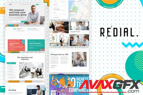 ThemeForest - Redial v1.0 - Corporate & Business Template Kit - 27107873