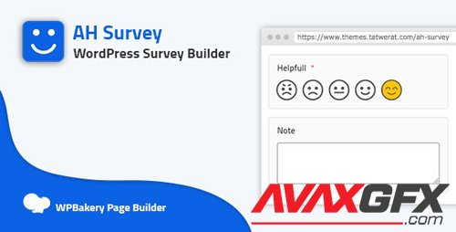 CodeCanyon - AH Survey v1.0.0 - Survey Builder With Multiple Questions Types - 27646691