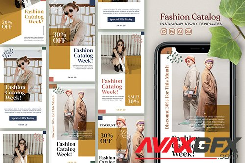 Instagram Story Template Vol.22 Fashion Catalogue