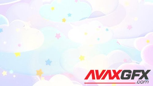 Stars And Clouds Background 26918527