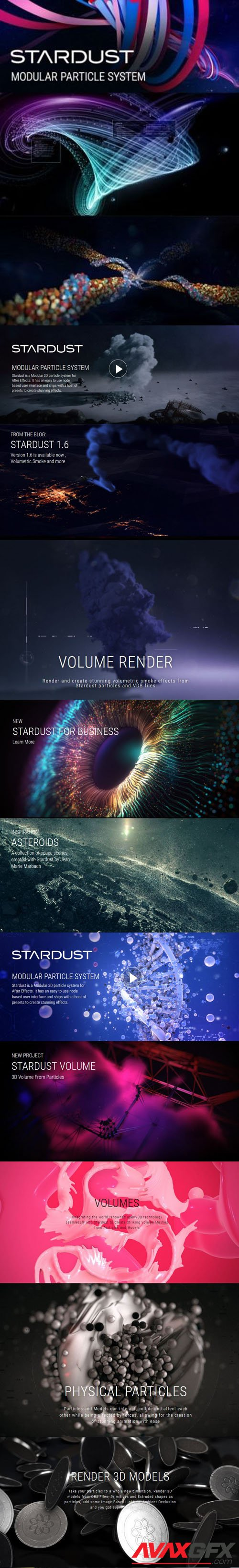 Superluminal Stardust 1.6.0 Plugin for Adobe After Effects