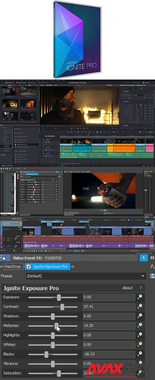 FXhome Ignite Pro 4.1.9221.34279 Plugin for Adobe After Effects