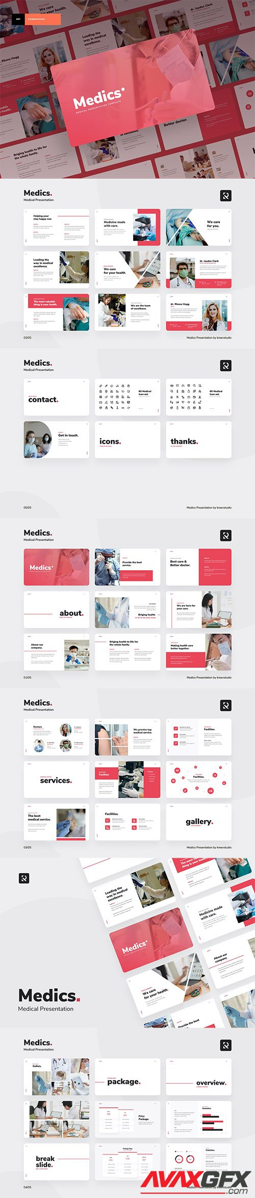 Medical - Powerpoint, Keynote and Google Slides Template ...