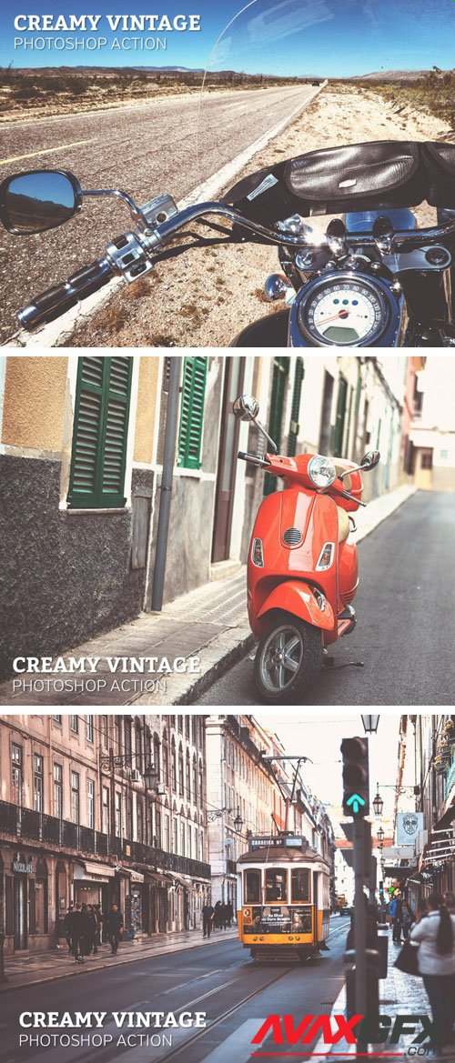 Creamy Vintage Photoshop Action