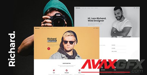 ThemeForest - Richard v1.0 - Onepage Personal WordPress Theme - 26674171