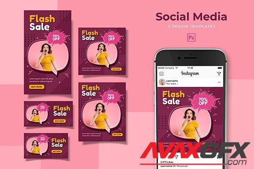 Flash Sale Social Media