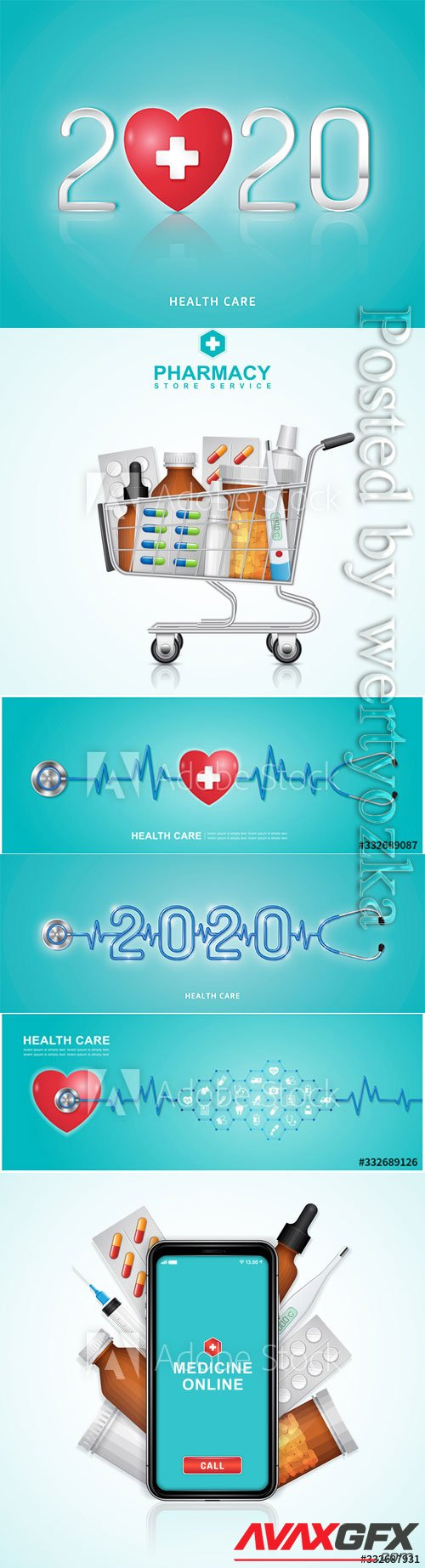 Healthcare and medical concept vector design