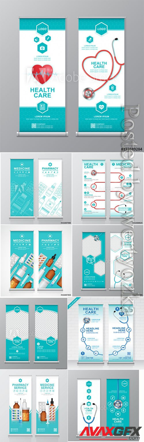 Health care and medical roll up design