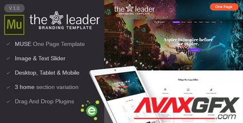 ThemeForest - The Leader v1.0 - Creative Business Muse Template - 19248682