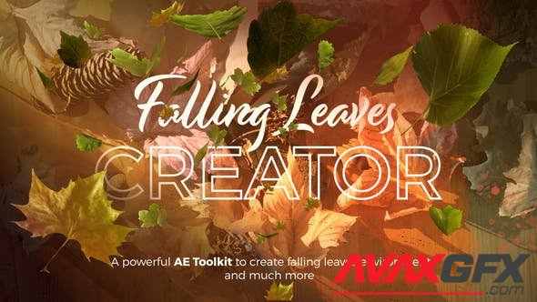 VideoHive - Falling Leaves Creator 28411446